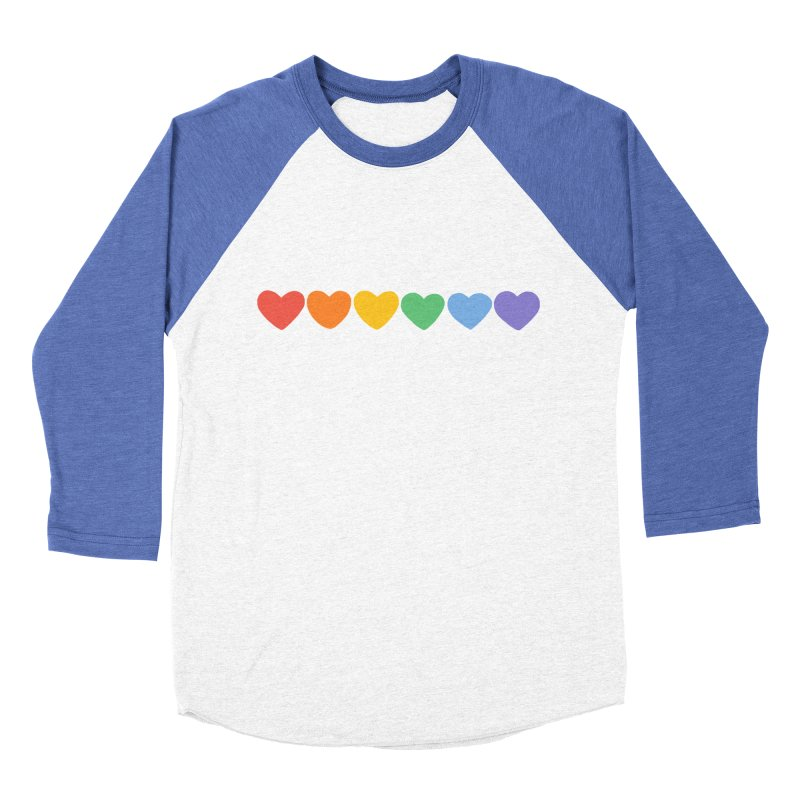 Hearts Women's Baseball Triblend Longsleeve T-Shirt by Jess Murray's Shop