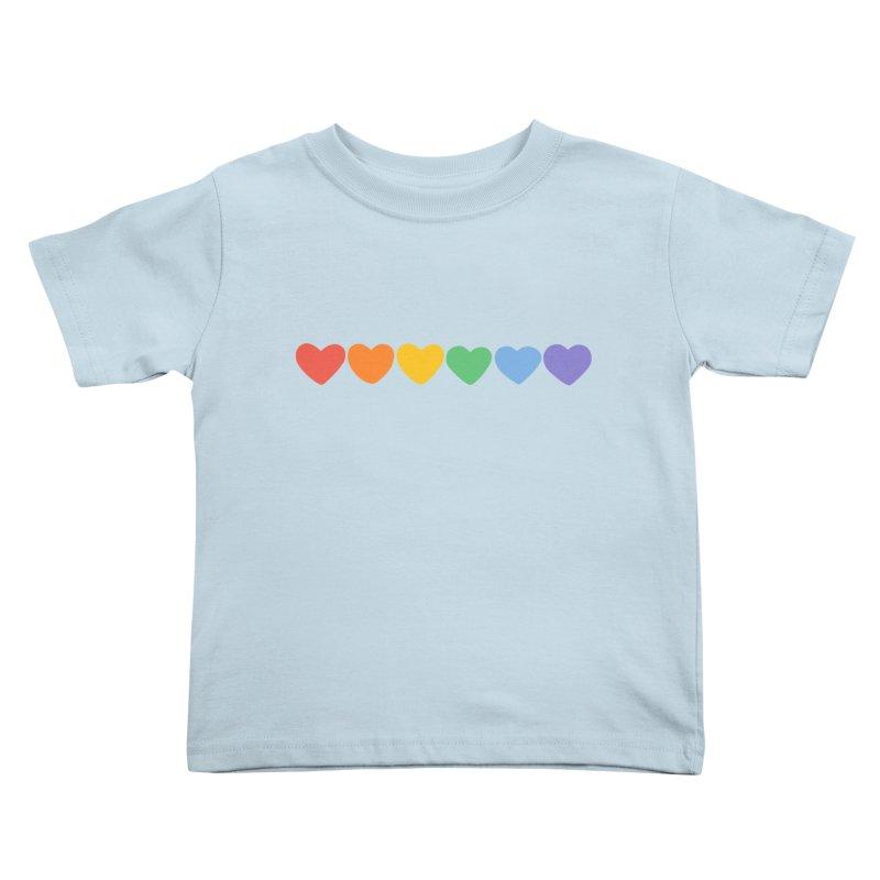 Hearts Kids Toddler T-Shirt by Jess Murray's Shop