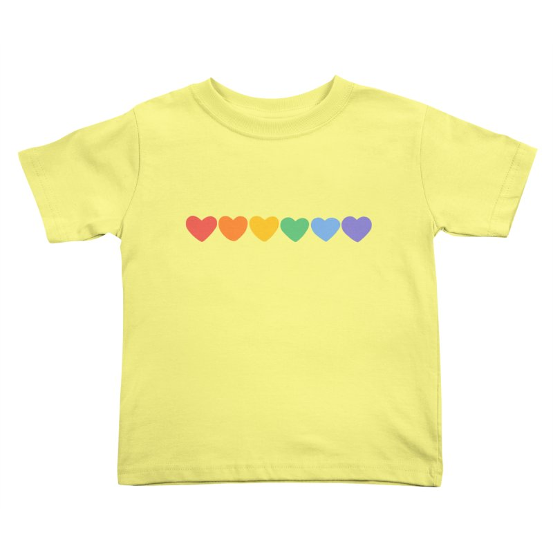 Hearts Kids Toddler T-Shirt by Jess Murray's Shop