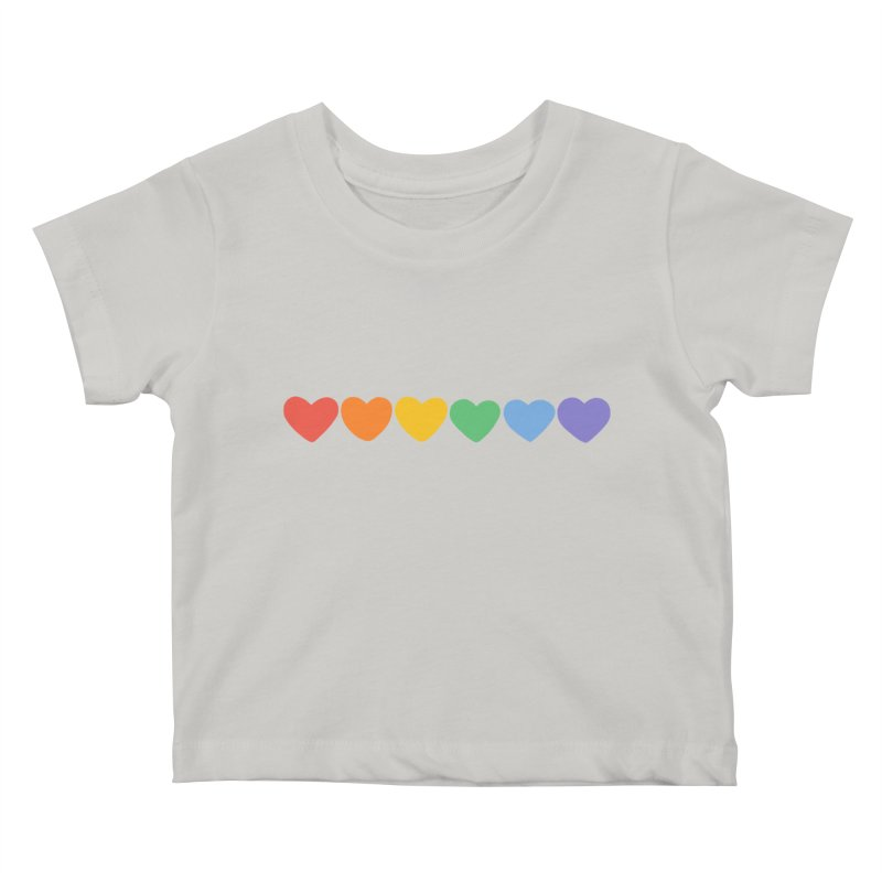 Hearts Kids Baby T-Shirt by Jess Murray's Shop