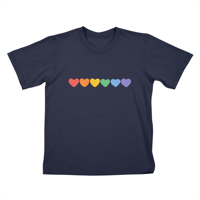 Hearts Kids T-Shirt by Jess Murray's Shop