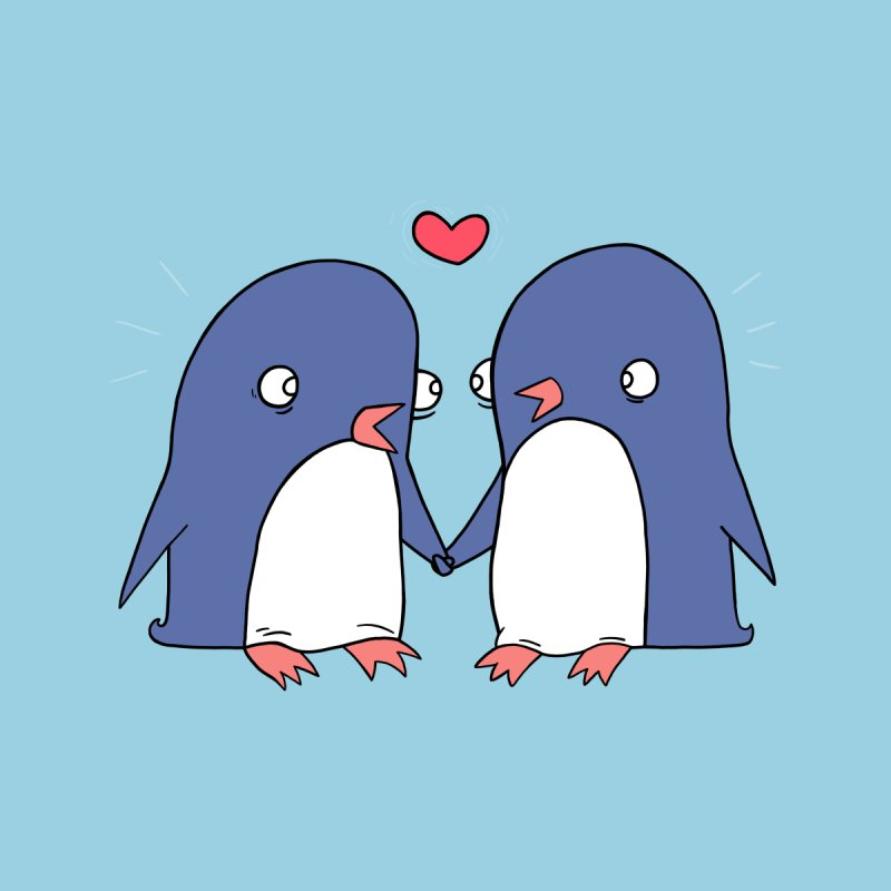 Penguins in Love by Jess Murray's Shop