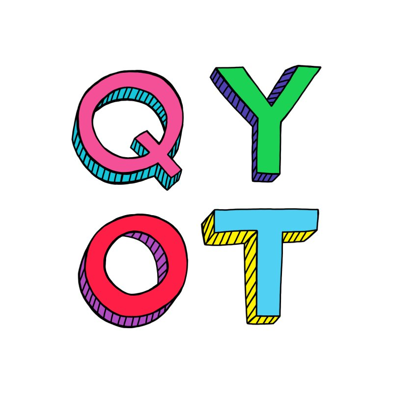 QYOT Initials by Jess Murray's Shop