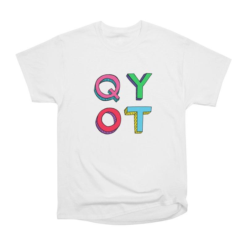 QYOT Initials Women's Classic Unisex T-Shirt by Jess Murray's Shop