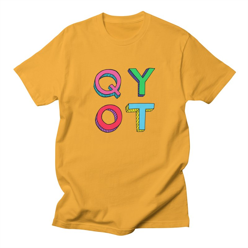 QYOT Initials Men's T-shirt by Jess Murray's Shop
