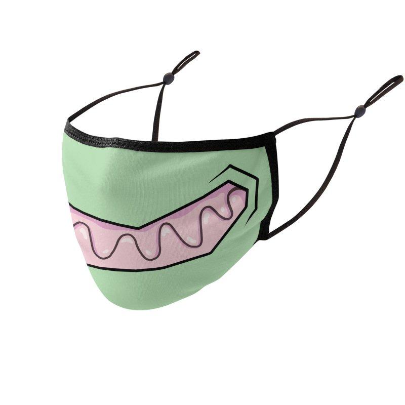 Space Jerk Accessories Face Mask by Jhonen Vasquez's Stuff Place