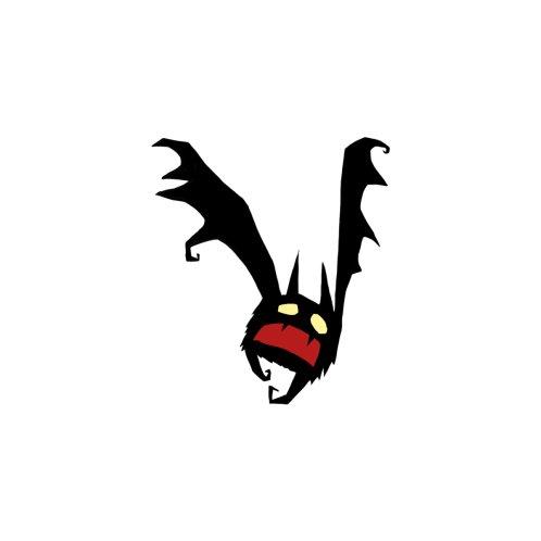 Design for spooky little bat