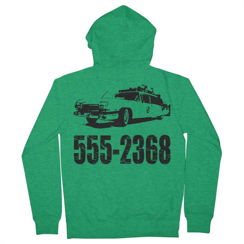 555-2368 Men's Zip-Up Hoody by Jimbanzee's Artist Shop
