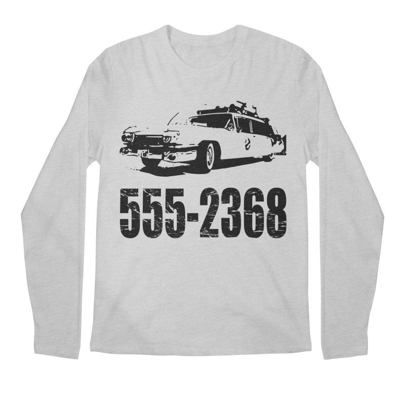 555-2368 Men's Longsleeve T-Shirt by Jimbanzee's Artist Shop