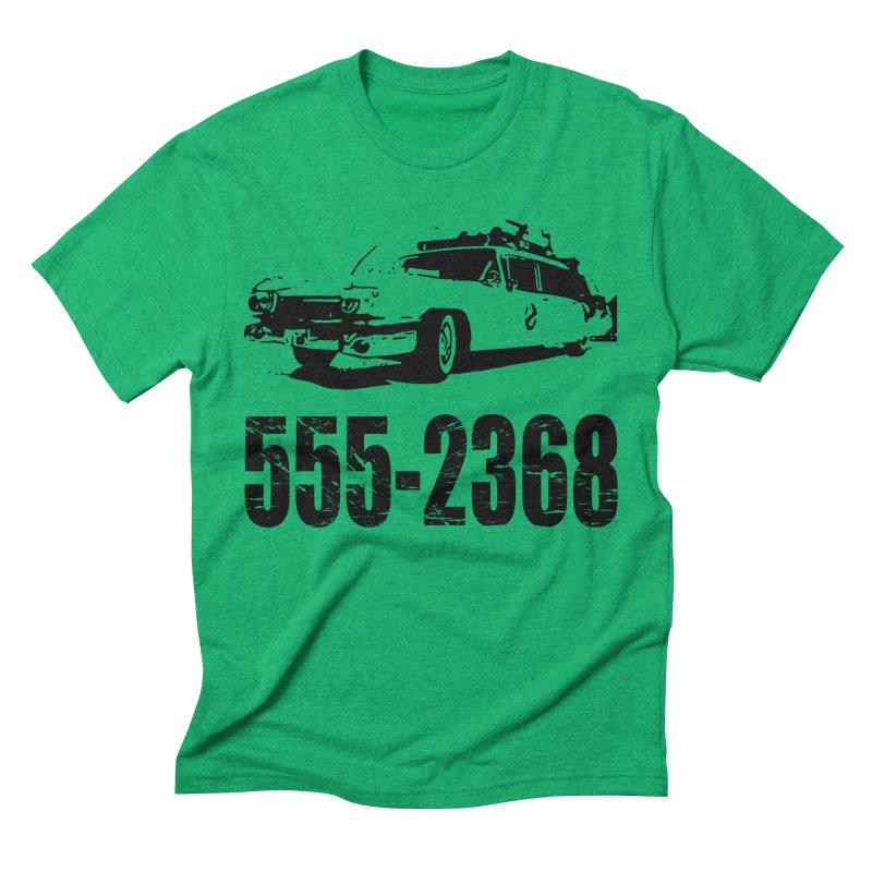555-2368 Men's Triblend T-Shirt by Jimbanzee's Artist Shop