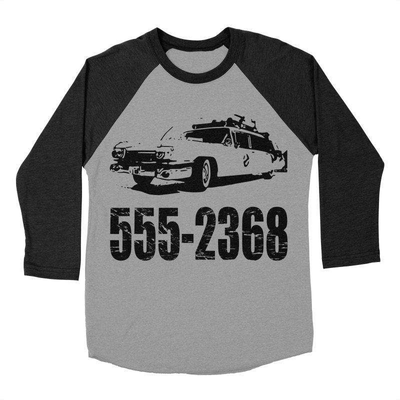 555-2368 Men's Baseball Triblend T-Shirt by Jimbanzee's Artist Shop