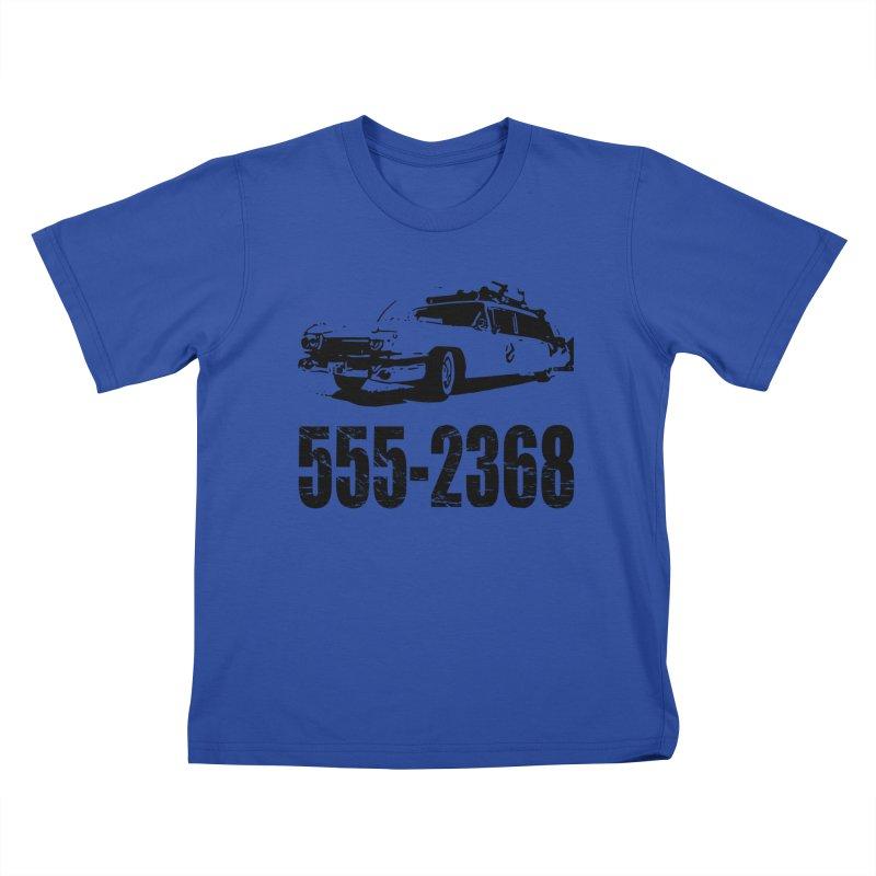 555-2368 Kids T-shirt by Jimbanzee's Artist Shop