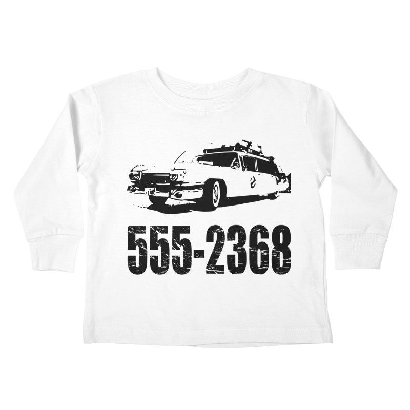 555-2368 Kids Toddler Longsleeve T-Shirt by Jimbanzee's Artist Shop