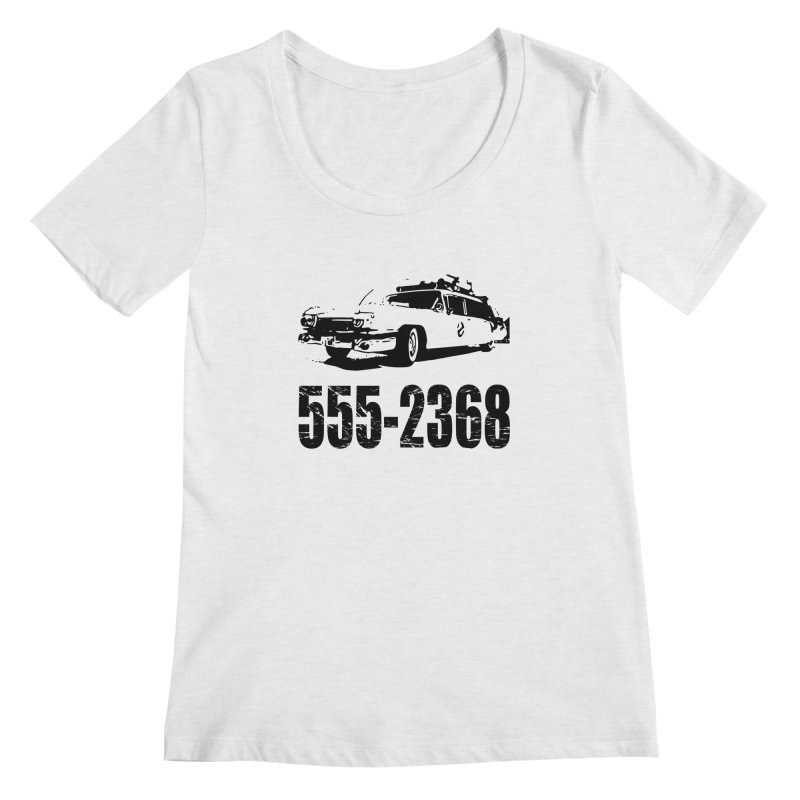 555-2368 Women's Scoopneck by Jimbanzee's Artist Shop