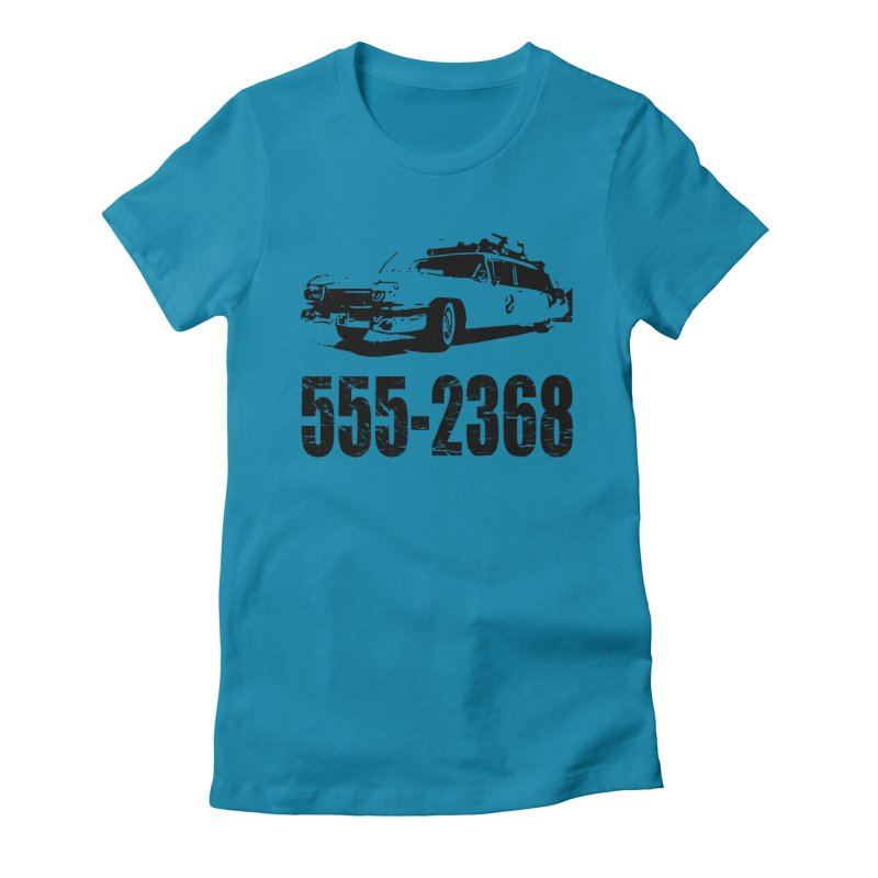 555-2368 Women's Fitted T-Shirt by Jimbanzee's Artist Shop