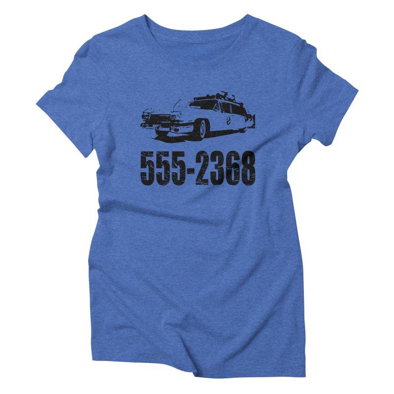 555-2368 Women's Triblend T-shirt by Jimbanzee's Artist Shop