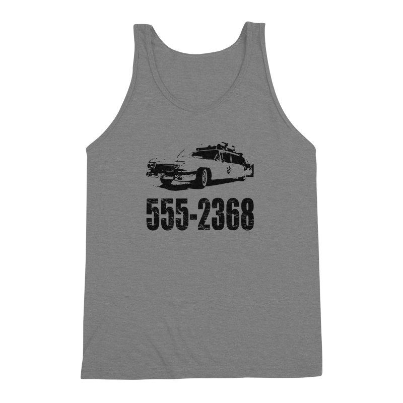 555-2368 Men's Triblend Tank by Jimbanzee's Artist Shop