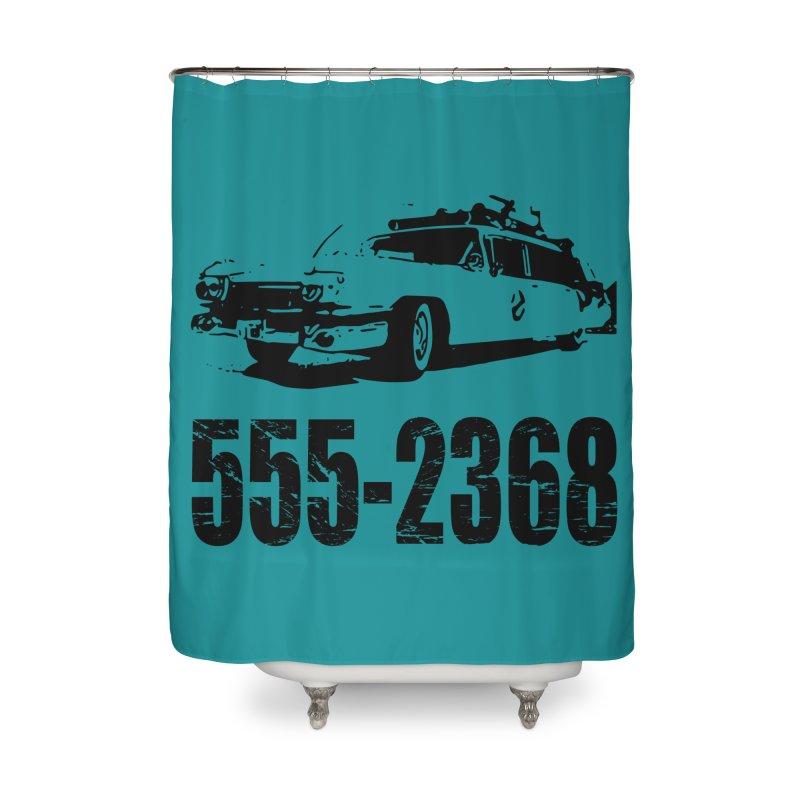 555-2368 Home Shower Curtain by Jimbanzee's Artist Shop
