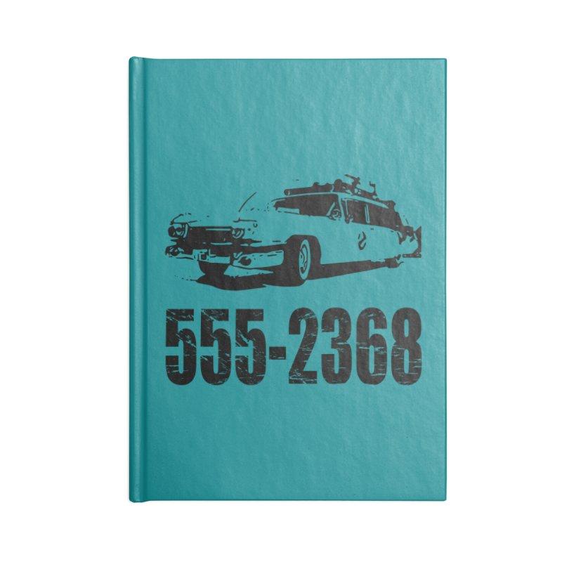555-2368 Accessories Notebook by Jimbanzee's Artist Shop