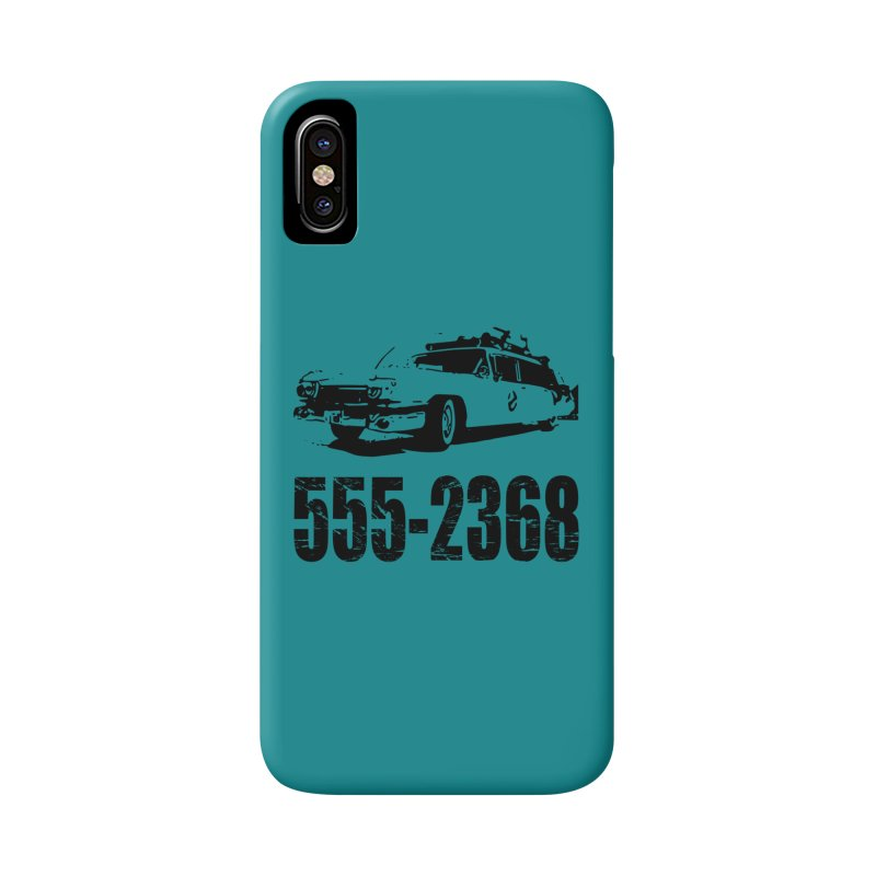 555-2368 Accessories Phone Case by Jimbanzee's Artist Shop