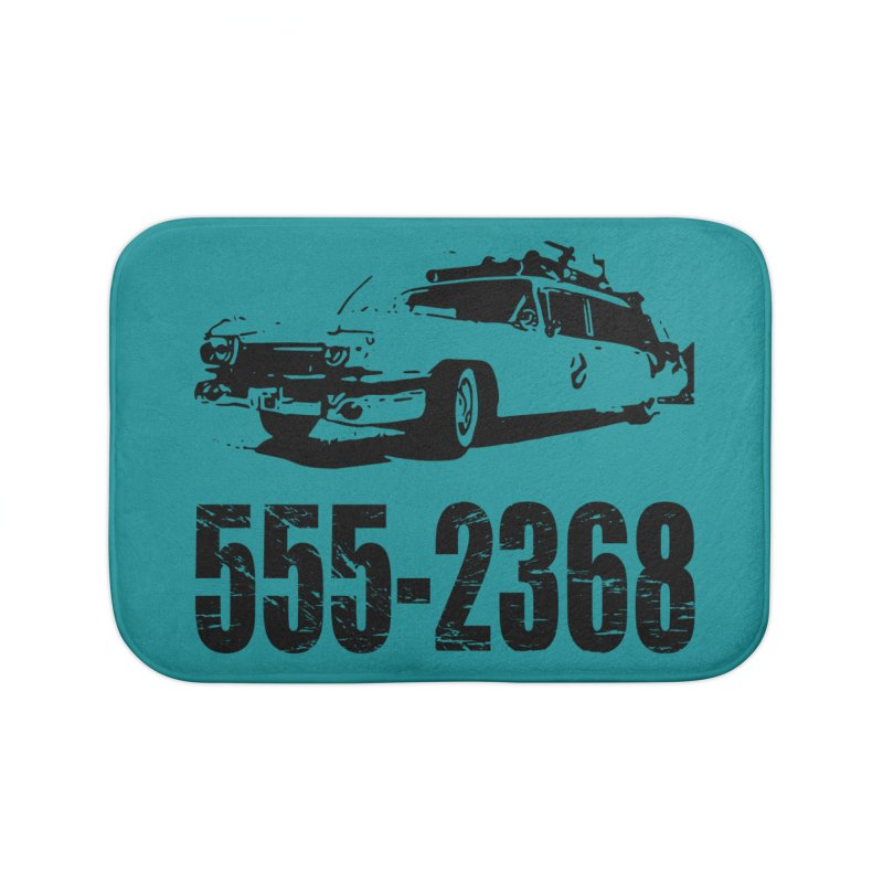555-2368 Home Bath Mat by Jimbanzee's Artist Shop