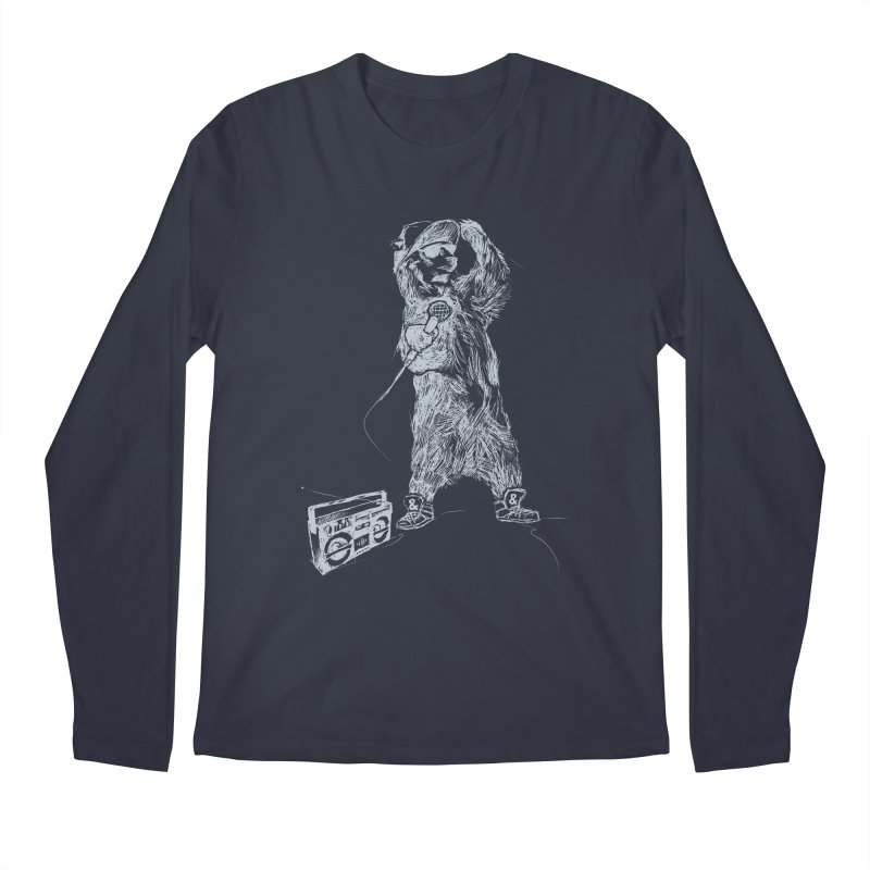 MC Grizzly Men's Longsleeve T-Shirt by Jimbanzee's Artist Shop