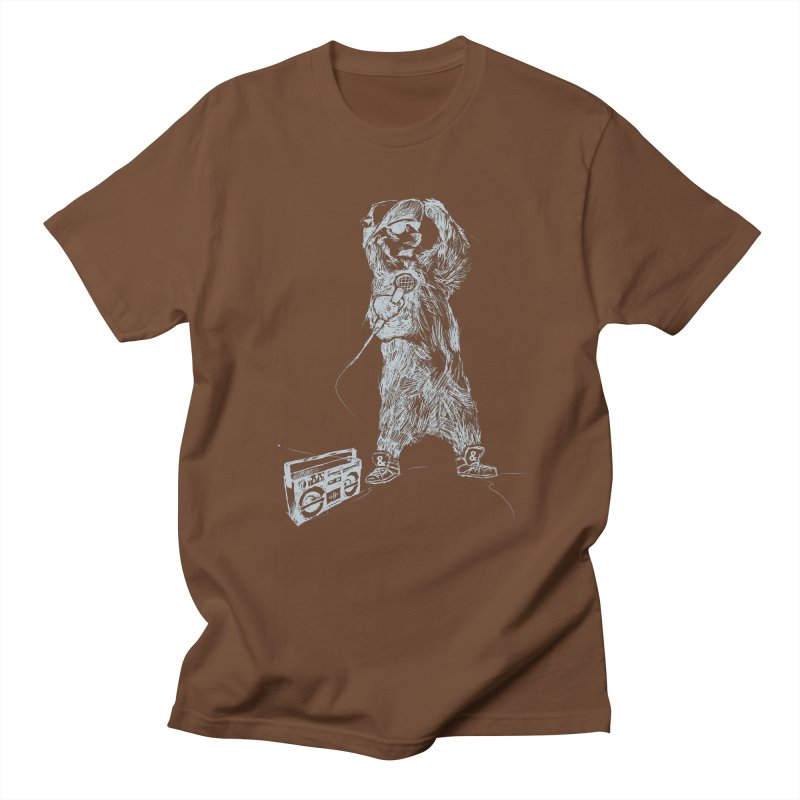 MC Grizzly Men's T-Shirt by Jimbanzee's Artist Shop