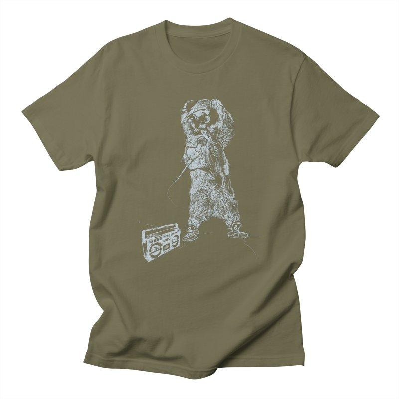 MC Grizzly Women's Unisex T-Shirt by Jimbanzee's Artist Shop