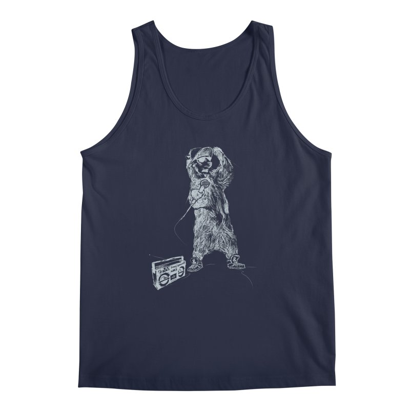 MC Grizzly Men's Tank by Jimbanzee's Artist Shop