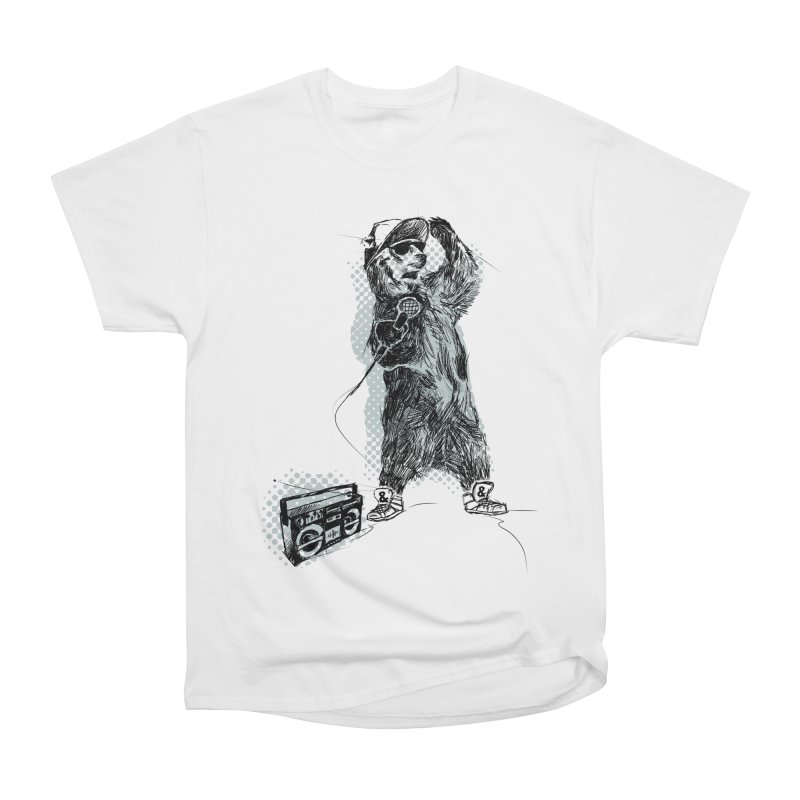 MC Grizzly Women's Heavyweight Unisex T-Shirt by Jimbanzee's Artist Shop