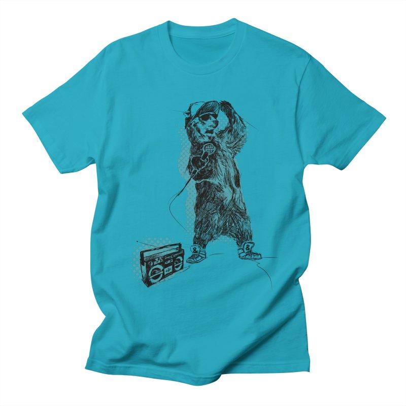 MC Grizzly Men's T-Shirt by Jimbanzee's Artist Shop