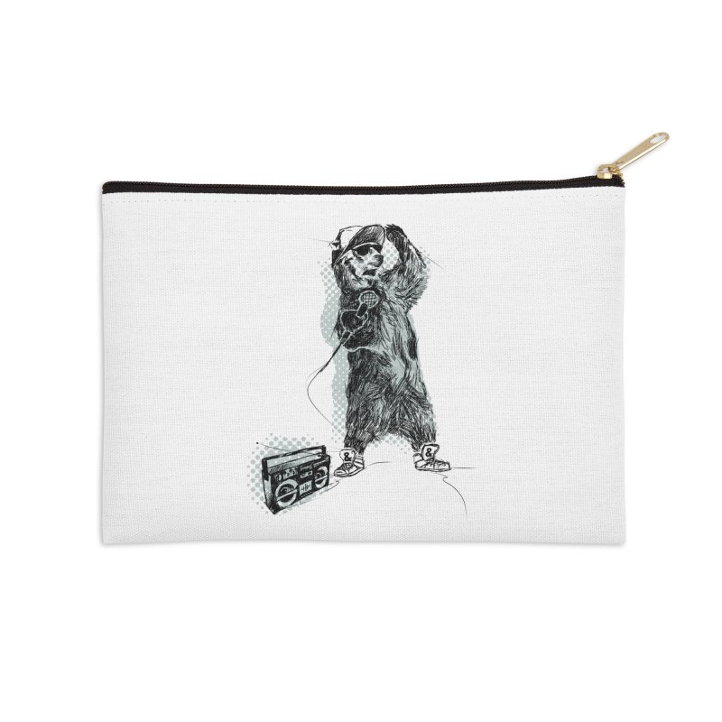 MC Grizzly Accessories Zip Pouch by Jimbanzee's Artist Shop