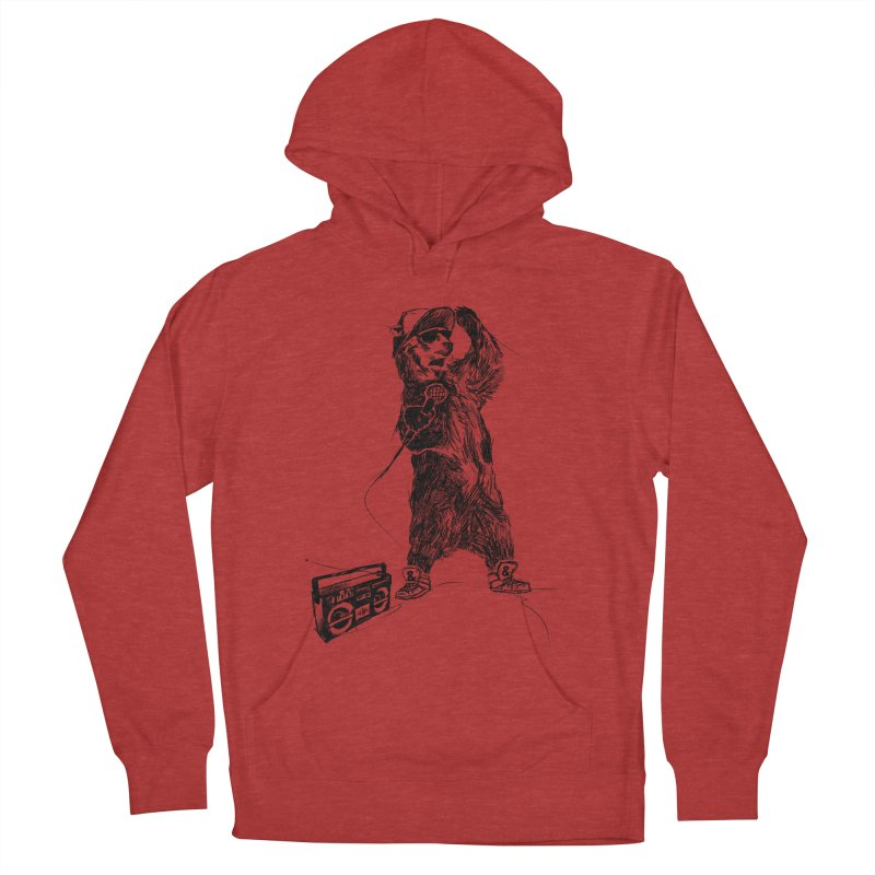 MC Grizzly Men's Pullover Hoody by Jimbanzee's Artist Shop