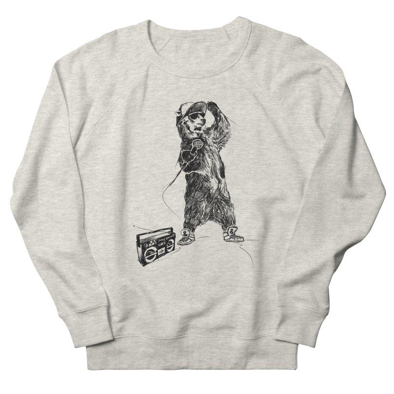 MC Grizzly Men's Sweatshirt by Jimbanzee's Artist Shop