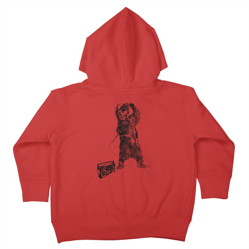 MC Grizzly Kids Toddler Zip-Up Hoody by Jimbanzee's Artist Shop