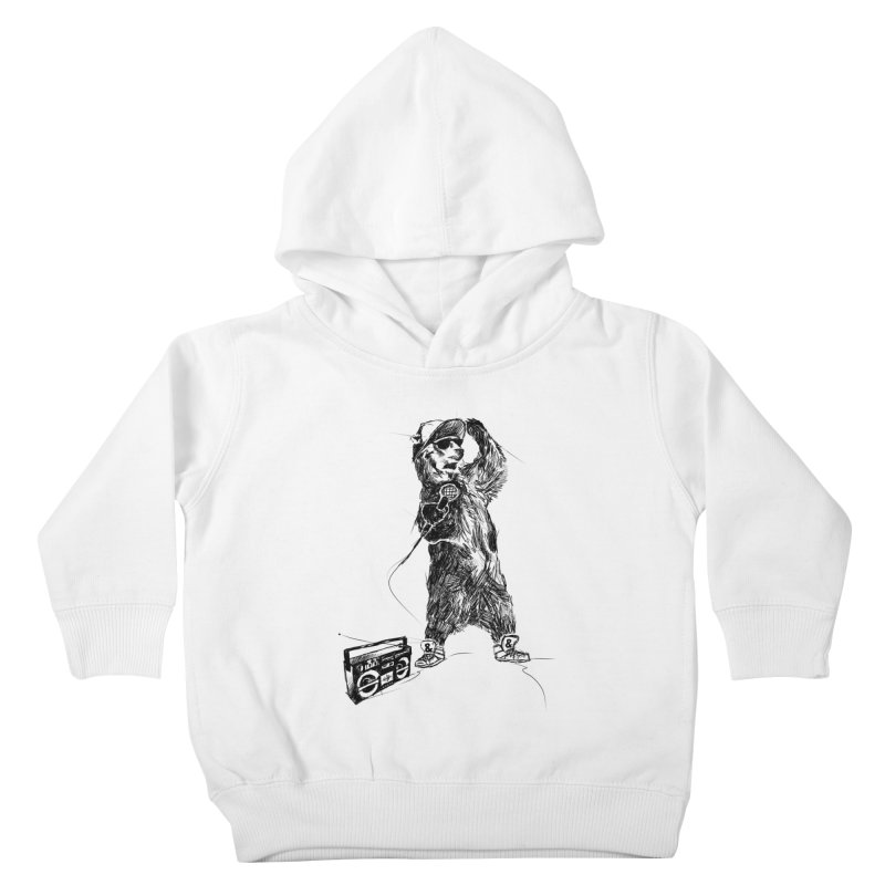 MC Grizzly Kids Toddler Pullover Hoody by Jimbanzee's Artist Shop