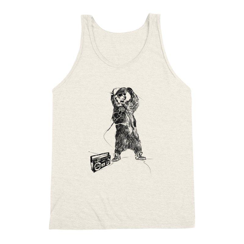MC Grizzly Men's Triblend Tank by Jimbanzee's Artist Shop