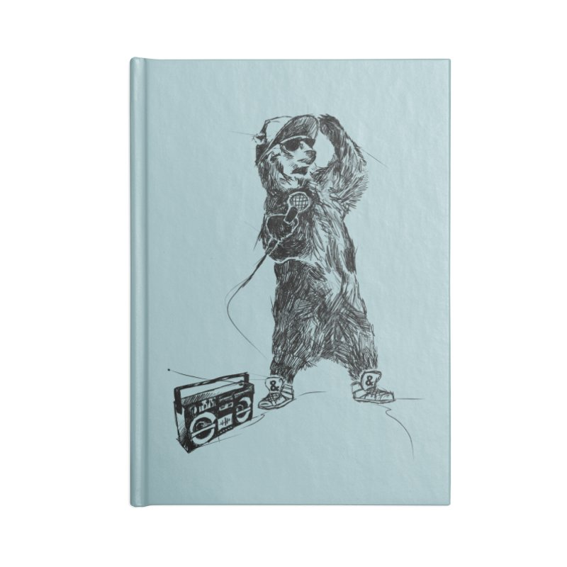 MC Grizzly Accessories Notebook by Jimbanzee's Artist Shop