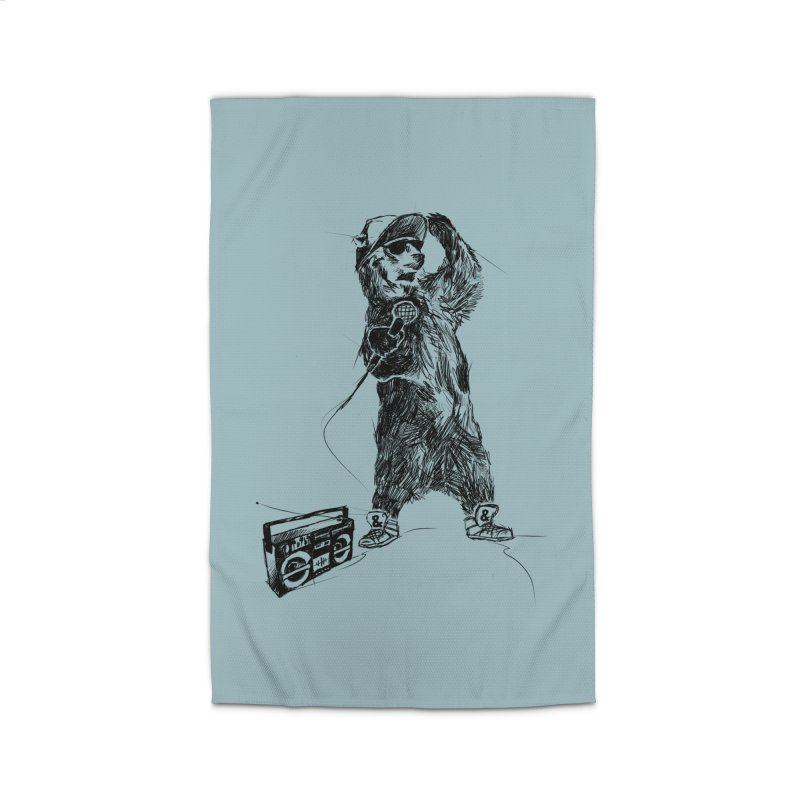 MC Grizzly Home Rug by Jimbanzee's Artist Shop
