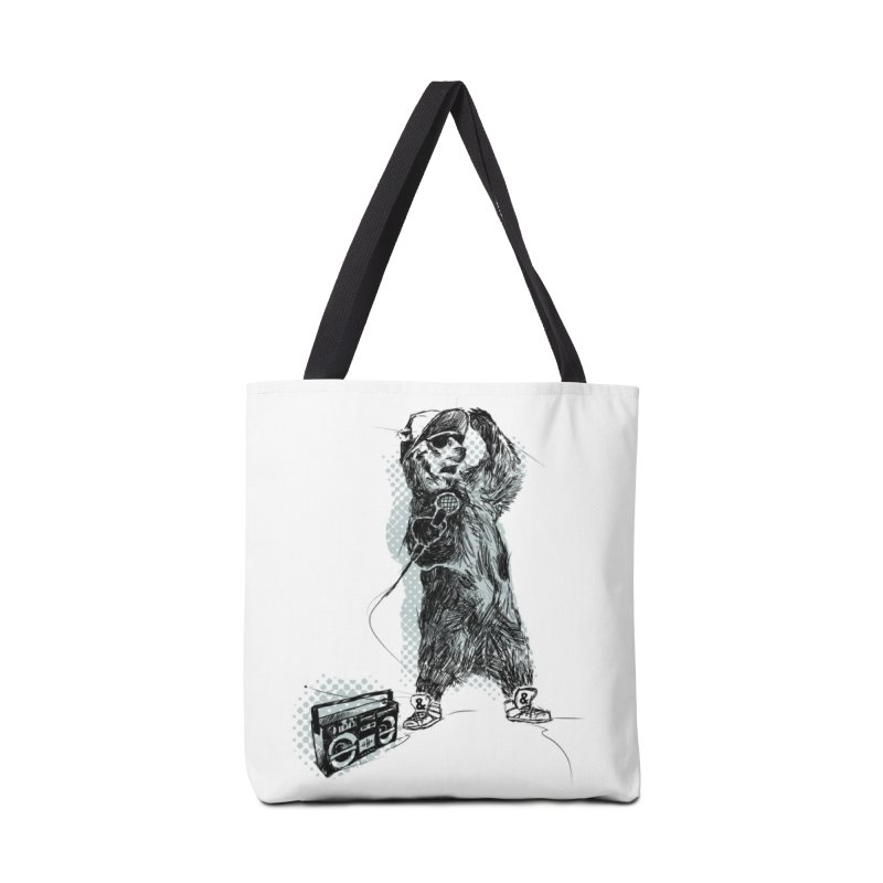 MC Grizzly Accessories Bag by Jimbanzee's Artist Shop