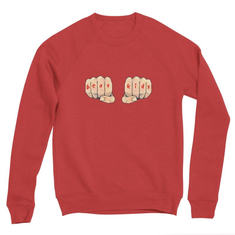 beat kids Men's Sponge Fleece Sweatshirt by Jim Tozzi