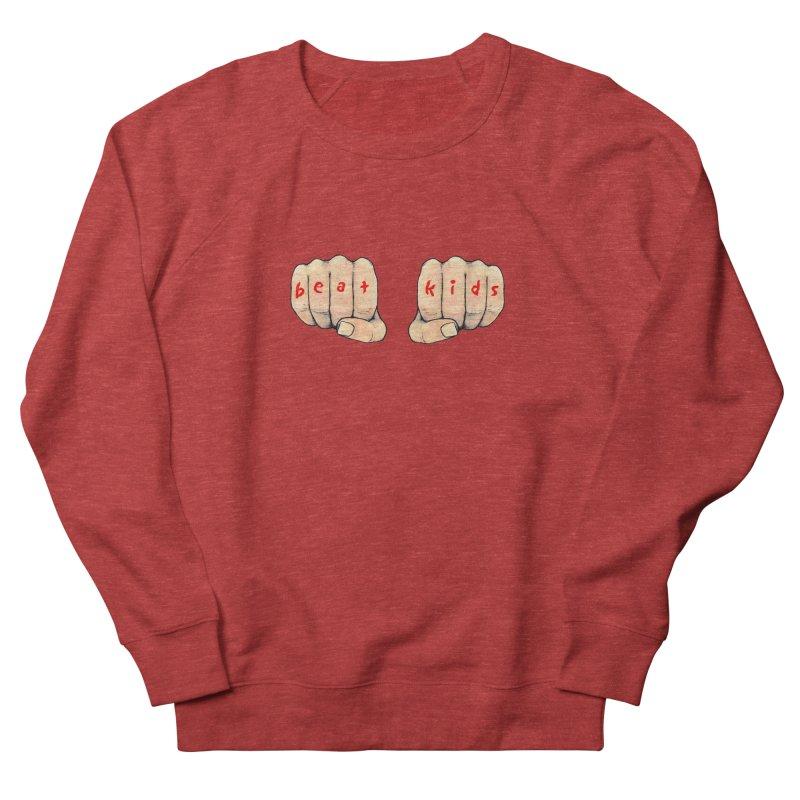 Wondershowzen BEAT KIDS Men's French Terry Sweatshirt by Jim Tozzi