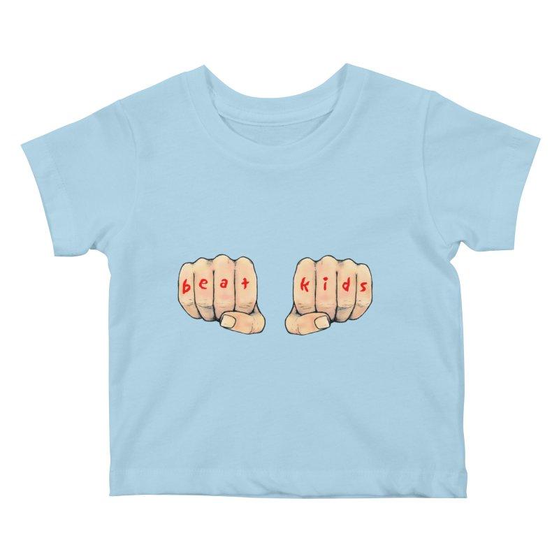beat kids Kids Baby T-Shirt by Jim Tozzi
