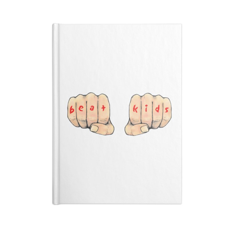 beat kids Accessories Blank Journal Notebook by Jim Tozzi