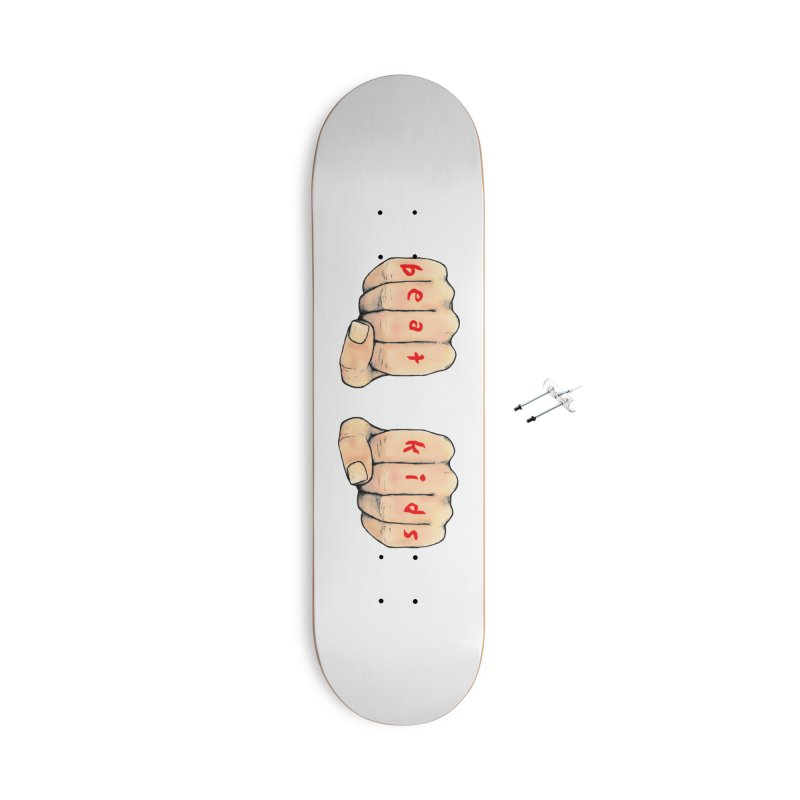 beat kids Accessories With Hanging Hardware Skateboard by Jim Tozzi