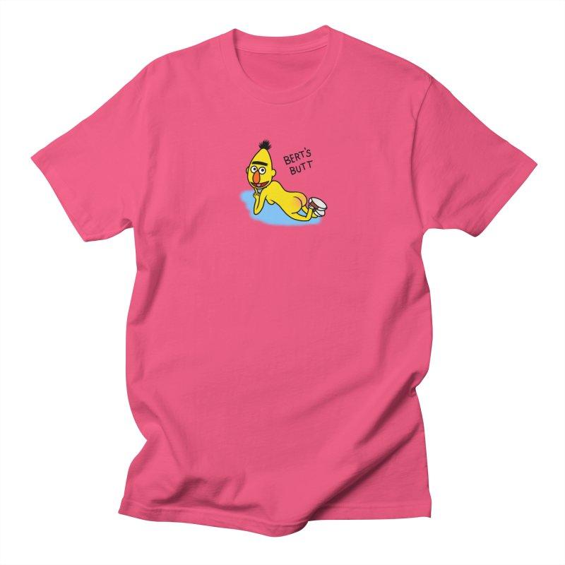 Bert's butt Women's Regular Unisex T-Shirt by Jim Tozzi