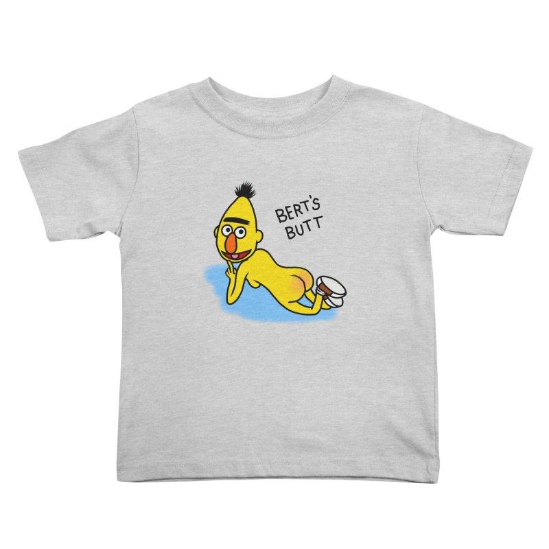 Bert's butt Kids Toddler T-Shirt by Jim Tozzi