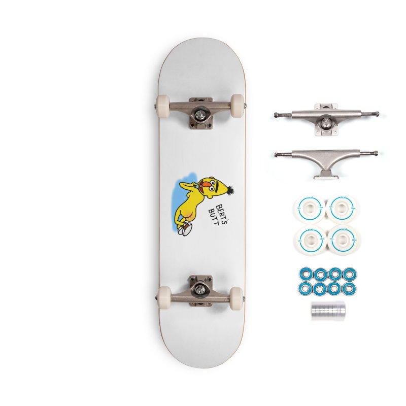Bert's butt Accessories Complete - Basic Skateboard by Jim Tozzi
