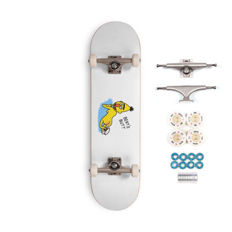 Bert's butt Accessories Complete - Premium Skateboard by Jim Tozzi
