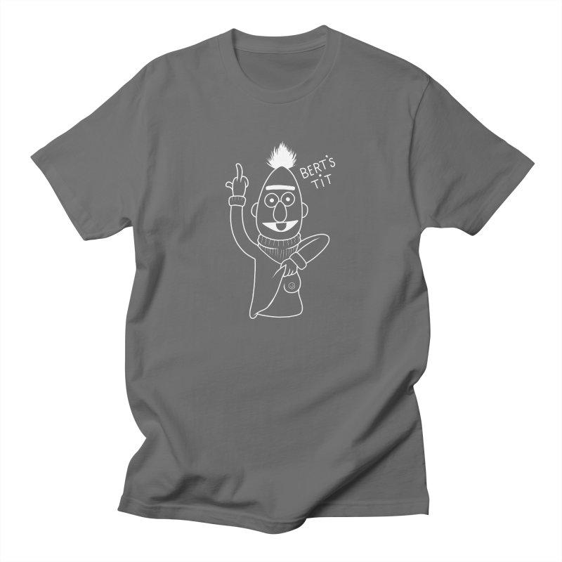 Bert's tit inverse Men's Regular T-Shirt by Jim Tozzi